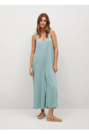 MANGO Oversized culotte jumpsuit