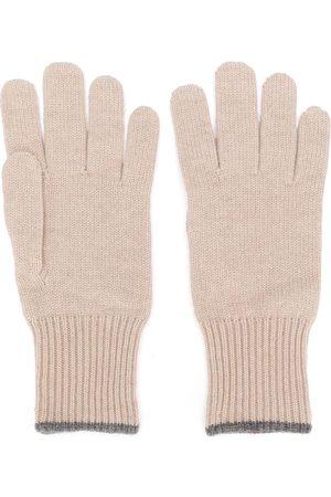 Brunello Cucinelli Cashmere gloves - Neutrals