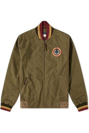 Fred Perry Men Bomber Jackets - Fred Perry x Nicholas Daley Patch Bomber Jacket