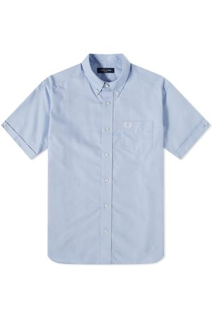Fred Perry Men Short sleeves - Fred Perry Short Sleeve Oxford Shirt
