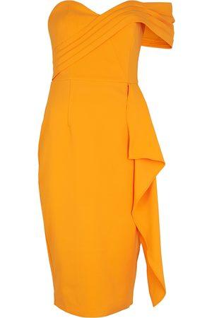 Lavish Alice One-shoulder midi dress