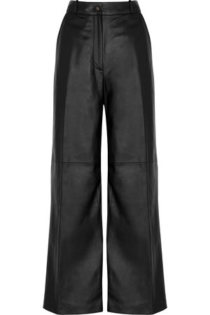 Loulou Studio Noro wide-leg leather trousers