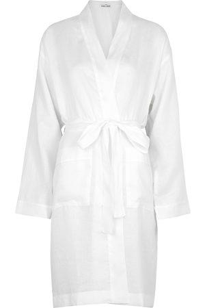 THE SLEEP SHIRT Women Bathrobes - Linen robe