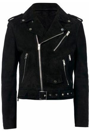 AMIRI Men Leather Jackets - Suede Biker Jacket - Mens