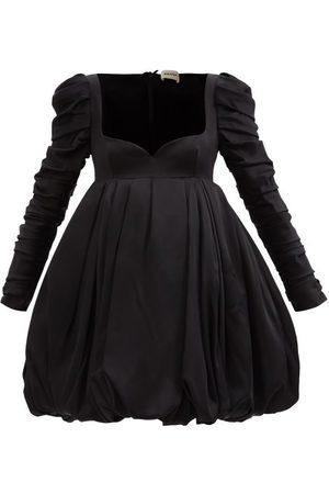 Khaite Katia Sweetheart-neckline Bubble Satin Mini Dress - Womens