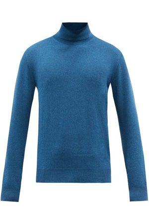 Ermenegildo Zegna Men Turtlenecks - Roll-neck Cashmere Sweater - Mens