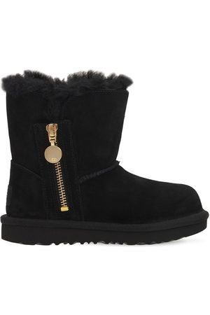 UGG Bailey Zip Short Shearling Boots