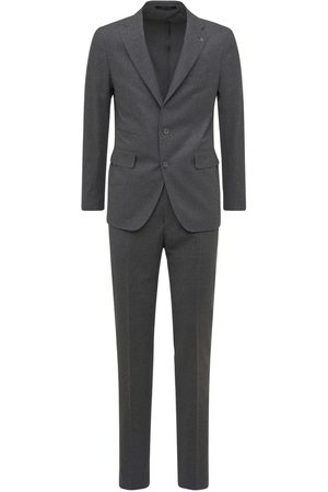TAGLIATORE Men Suits - Wool Blend Prince Of Wales Suit