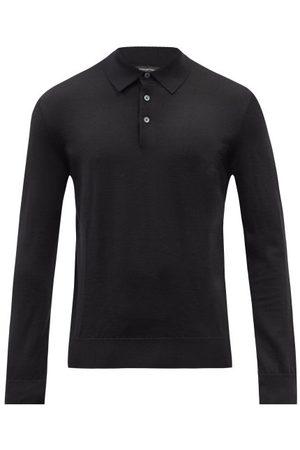 Ermenegildo Zegna Cashmere-blend Polo Sweater - Mens
