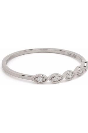 DJULA 18kt white gold Accumulation diamond ring