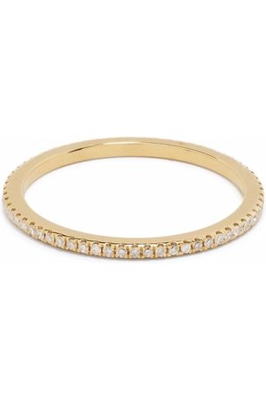 DJULA Women Rings - 18kt yellow engagement diamond ring