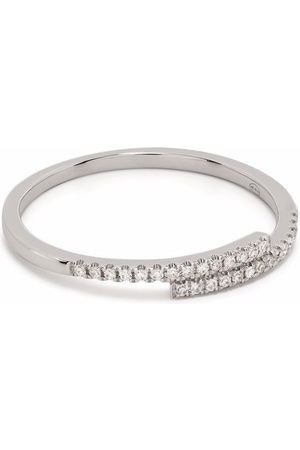 DJULA Women Rings - 18kt white gold You and Me diamond ring