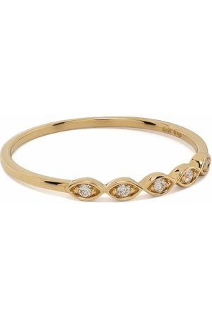DJULA Women Rings - 18kt yellow Accumulation diamond ring