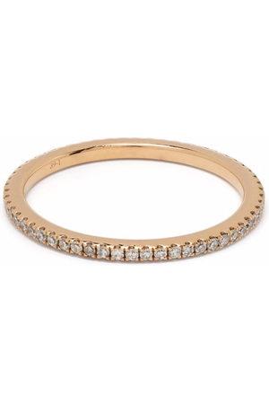 DJULA Women Rings - 18kt rose gold engagement diamond ring