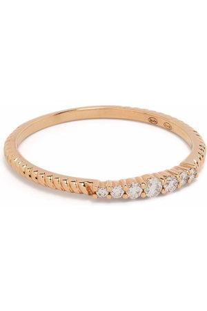 DJULA Women Rings - 18kt rose gold Accumulation diamond ring