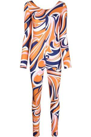 Emilio Pucci Women Jumpsuits - Nuages-print jumpsuit