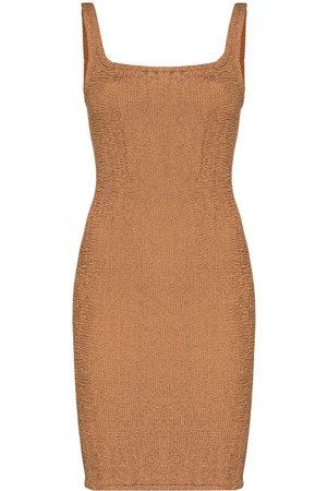 Hunza G Women Party Dresses - Tank square-neck mini dress