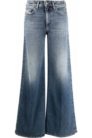 Diesel Women High Waisted - Akemi high-rise flared jeans