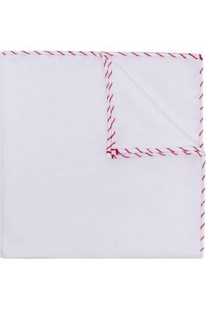 Brunello Cucinelli Men Bow Ties - Stitched-edge pocket scarf