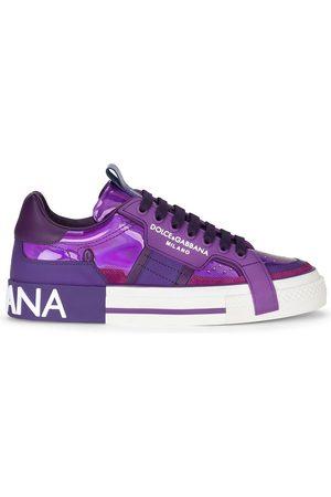 Dolce & Gabbana Women Sneakers - Panelled low-top sneakers