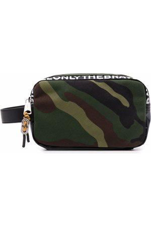 Diesel Men Toiletry Bags - Pouchur camouflage-print wash bag