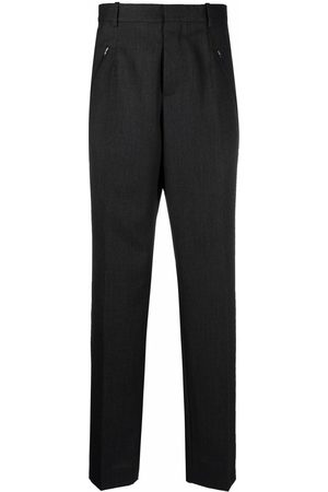 Maison Margiela Four-stitch detail tailored trousers - Grey