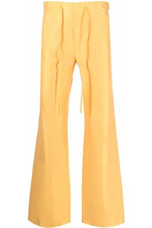Karl Lagerfeld Wide Leg Pants - X kenneth Ize pressed-crease trousers