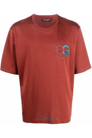 Dolce & Gabbana Men T-shirts - Logo-embossed T-shirt