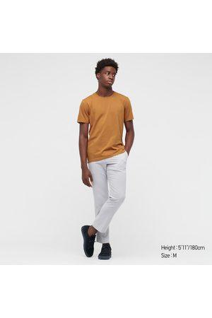 UNIQLO Men's Supima Cotton Crew Neck Short-Sleeve T-Shirt, , XXS