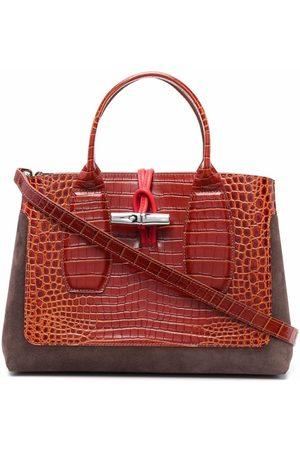 Longchamp Women Tote Bags - Roseau Frame top handle bag