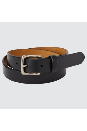 UNIQLO Men's Italian Saddle Leather Belt, , L
