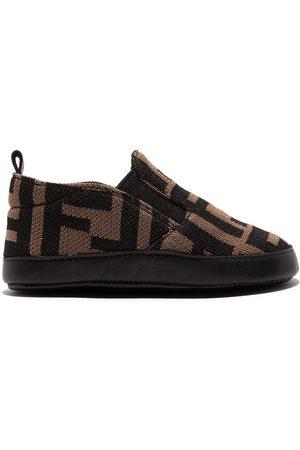 Fendi Slippers - FF-motif slippers