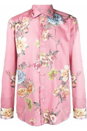 Etro Men Business - Formal floral print shirt