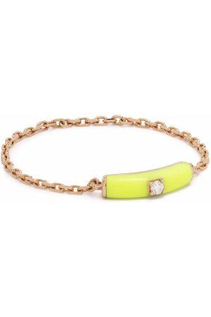 DJULA Women Rings - 14kt rose gold Marbella diamond chain ring