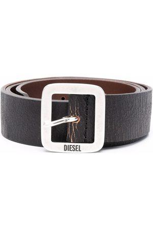 Diesel Men Belts - B-Rocco square-buckle leather belt