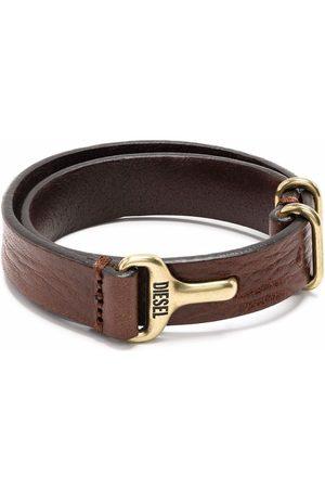 Diesel Men Bracelets - Leather-strap bracelet