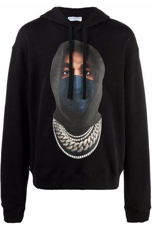Ih Nom Uh Nit Graphic-print cotton hoodie