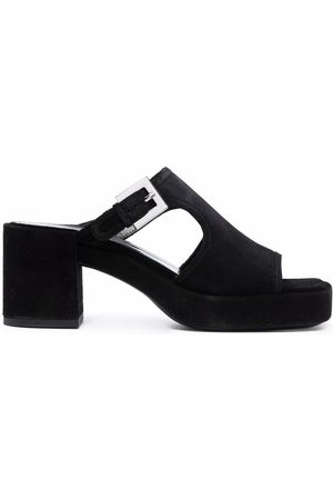 By Far Melba suede mules