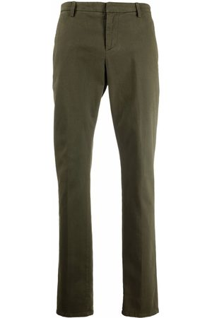 DONDUP Men Chinos - Jetted-pocket cotton chinos