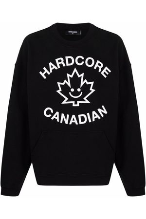 Dsquared2 Graphic-print long-sleeve jumper