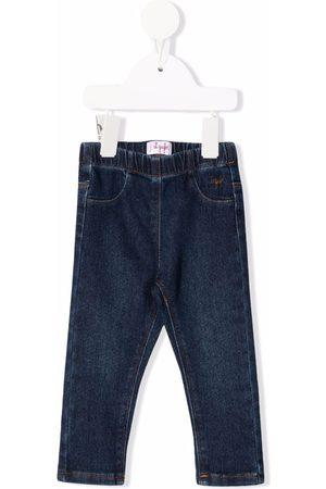 Il gufo Slim - Elasticated slim-fit jeans