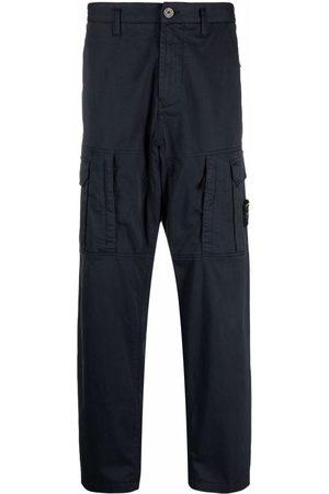 Stone Island Men Cargo Pants - Compass badge cargo trousers