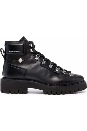 Dsquared2 Women Ankle Boots - Lace-up leather ankle-boots