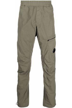 C.P. Company Men Cargo Pants - Lens-detail cargo trousers