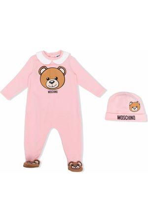 Moschino Logo-print cotton pyjamas