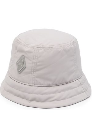 A-cold-wall* Men Hats - Logo patch bucket hat - Grey