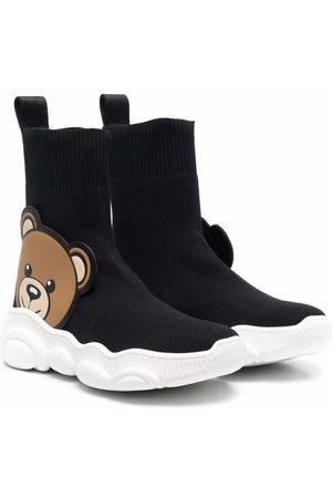 Moschino Teddy Bear motif sneakers