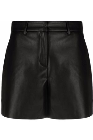 BLANCA Faux-leather shorts