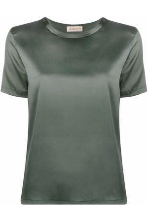 BLANCA Women T-shirts - Silk-blend T-shirt