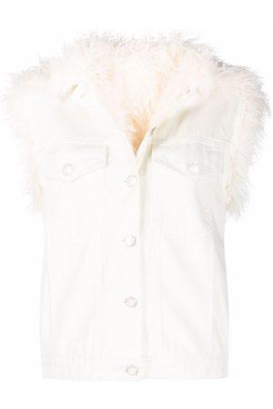 Pinko Faux-shearling jacket